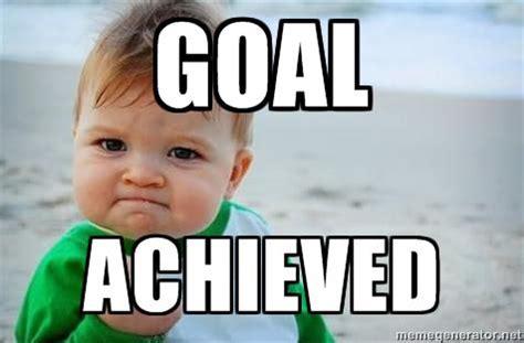 Goals Meme - 2017 goals the fit life