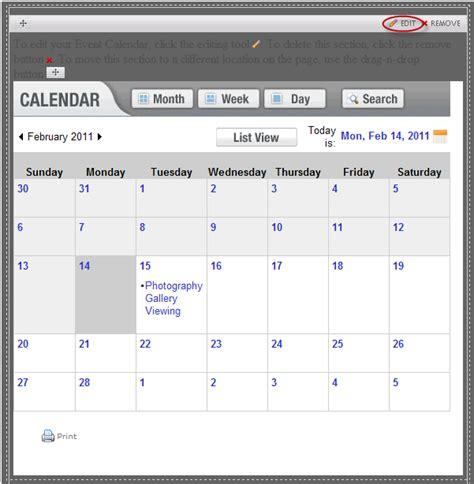 tutorial web calendar tutorial web calendar adding a calendar to your site