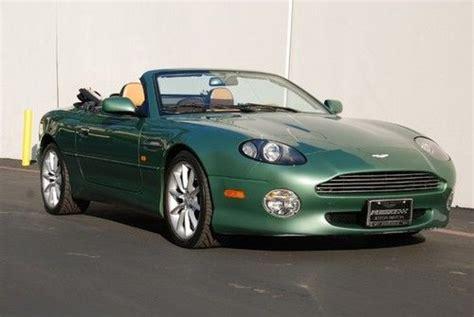 Aston Martin Dealers California by Purchase Used California Car Vantage Volante V12 Silver
