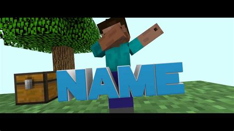 minecraft intro template blender minecraft intro template 1 blender 10likes for the