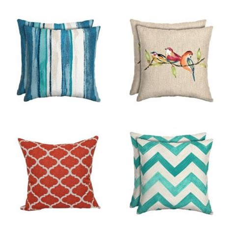 Outdoor Pillows Walmart walmart outdoor cushions pillows 5 fabulessly frugal