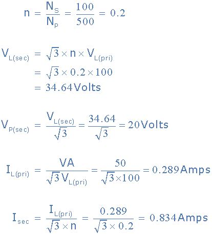 three phase induction motor formulas three phase transformer connections and basics