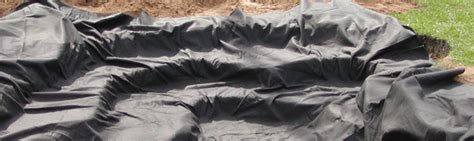 Landscape Fabric In Pond Pond Underlayment Drainage Erosion Non Woven Geotextile