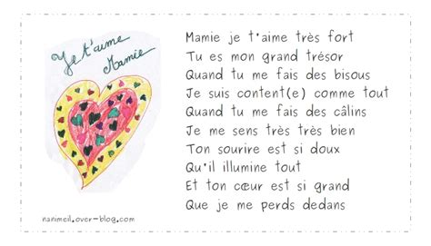 Poeme Pour Mamie