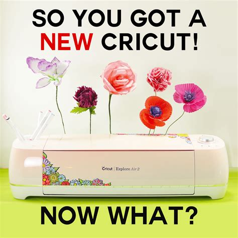 So What Did You Get by So You Got A New Cricut Now What A New Owner S Guide