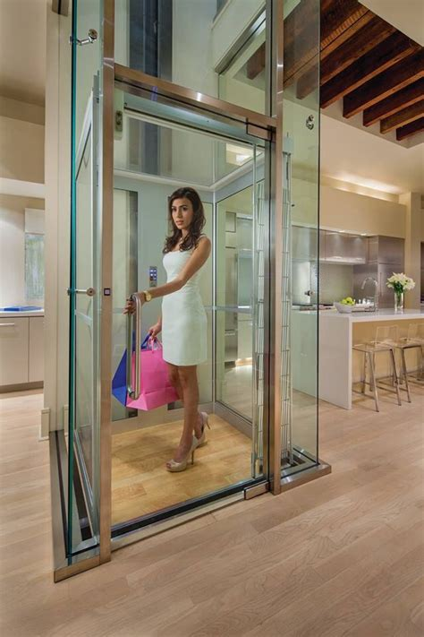homes with elevators modern home elevators by inclinator co of america home