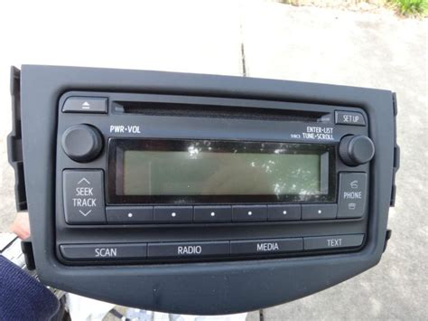Toyota Radio Parts Find Mint Toyota Oem Entune Radio 2012 Corolla Rav4