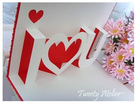 Handmade Pop Up Cards Tutorials - ideas para san valent 237 n