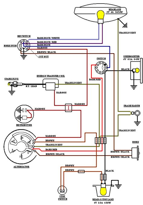 bantam wiring diagrams