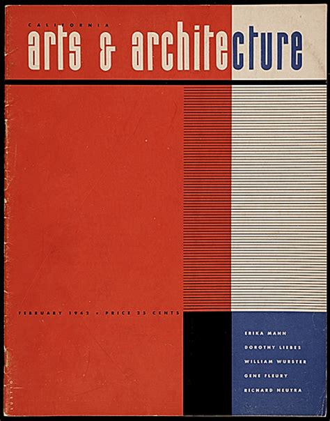 architecture and design magazine california arts architecture magazine cover design by