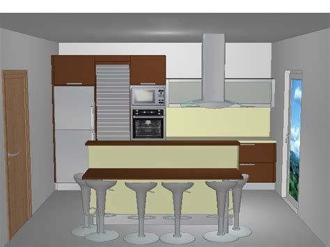 plan cuisine 3d gratuit faire plan cuisine decoration cuisine en siporex eaf
