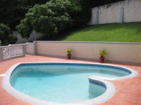 3 bedroom house with pool for rent dominica vacation rentals lovely homes for short term rental in morne daniel