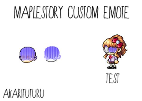 maplestory custom faces accessories to bases favourites by amadcutie on deviantart