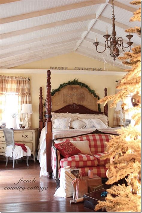 Christmas Decorations For Home Interior by French Country Cottage Feature