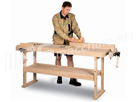 banco da falegname nuovo banco bancone da lavoro falegname 2 mt con piano in legno