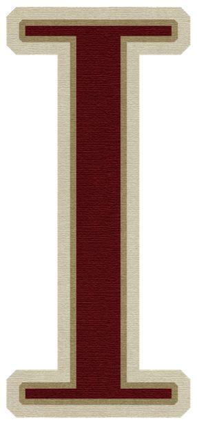 color con i im 225 genes de letras may 250 sculas de color rojo letra i
