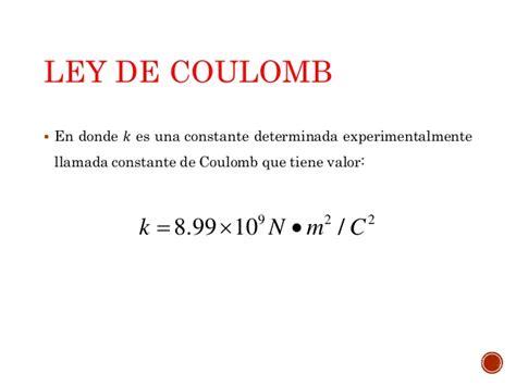 la ley de la 8479536616 ley de coulomb clase 2 te