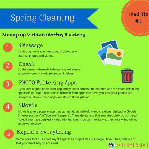 when does spring cleaning start spring cleaning tips for your ipad sweep up those photos