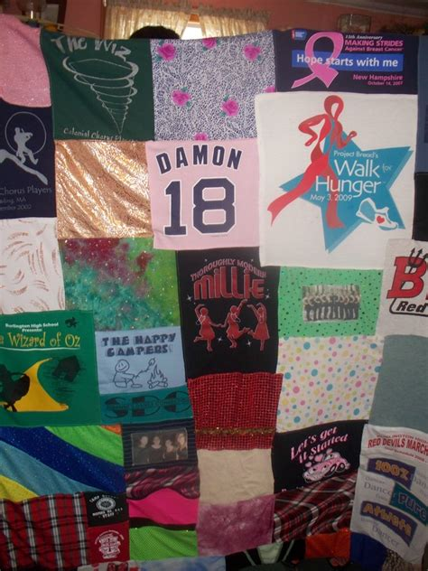 Custom T Shirt Quilts by Custom T Shirt Quilts With A Border Available