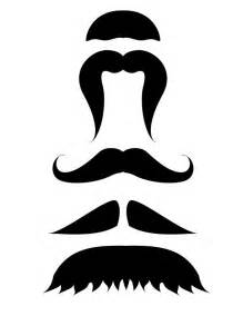 Mustache Template Printable by Printable Mustache Template Movember Photo
