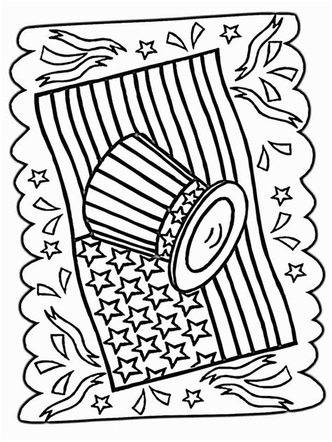 4th of july coloring coloring pages pinterest