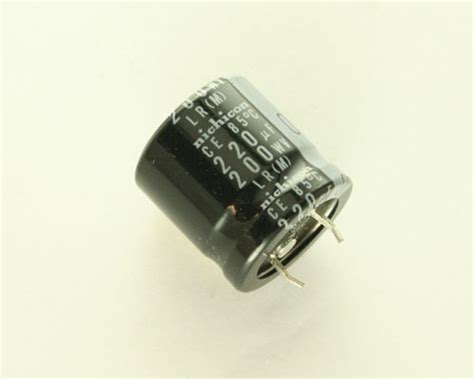 capacitor 220uf 200v llr2d221mhs nichicon capacitor 220uf 200v aluminum electrolytic snap in 2020020970