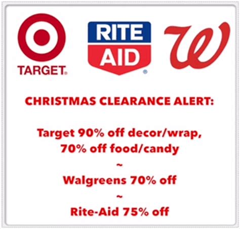 rite aid walgreens updates saving with clearance alerts for target walgreens and rite