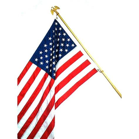 seasonal designs 3 ft x 5 ft premium u s flag kit us550