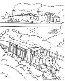free james train coloring pages