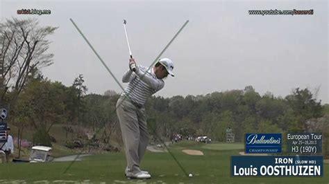 louis oosthuizen swing vision slow hd 2013 louis oosthuizen iron golf swing 2