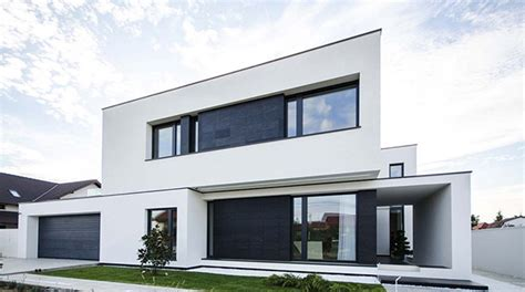 House Design Inside Simple c house black and white volumes in a modern home in