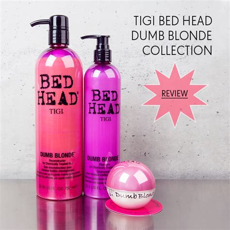 bed head dumb blonde shoo tigi bed head dumb blonde collection hair extensions