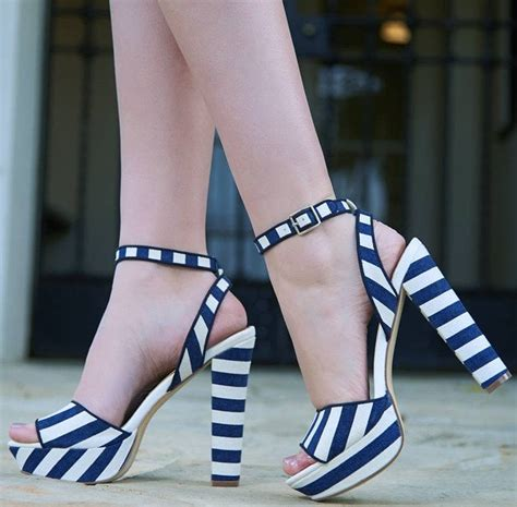 dress up in these lovely sky high platform sandals