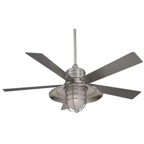 5 Light Ceiling Fan 54 Inch Ceiling Fan With Five Blades And Light Kit F582 Bnw Destination Lighting