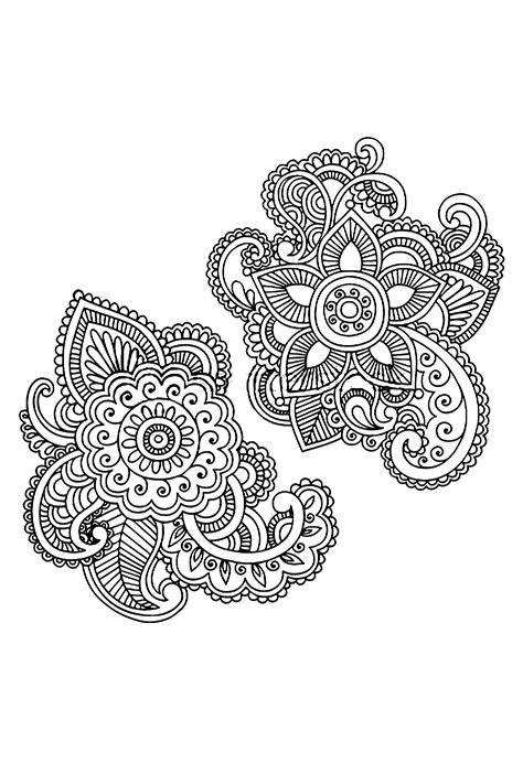 hand drawn tattoo designs henna pattern by kenneth poveda mata via behance
