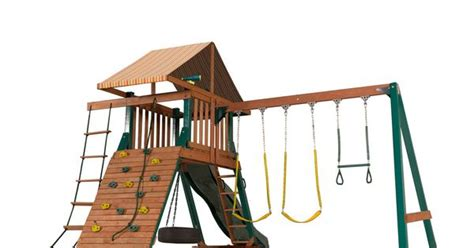 lowes tire swing shop heartland playsets captain s loft a with weston
