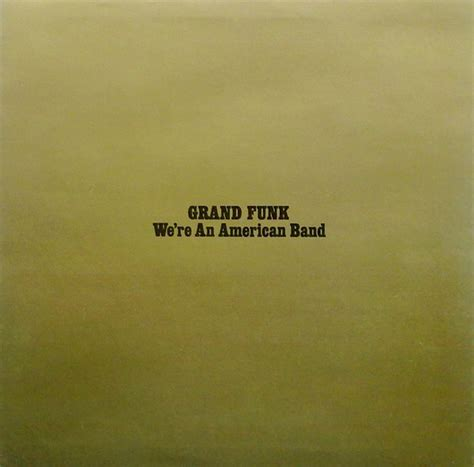 Grand Funk We Re American Band 1973 Capitol Records Gatefold Vinyl 2 srebrne svinje