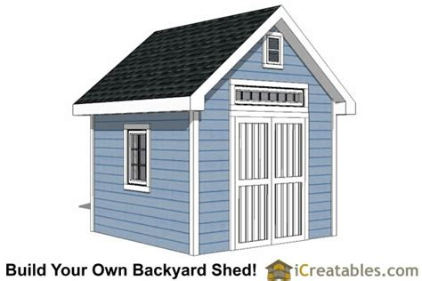 10×10 Garden Shed