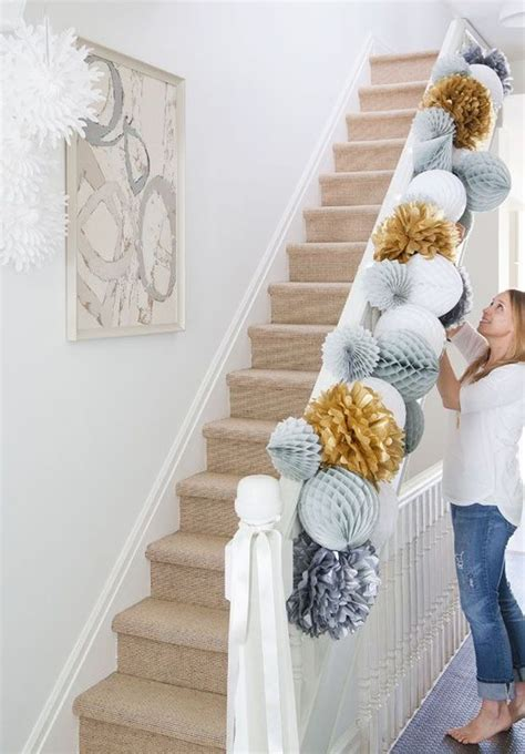 diy decorations stairs ideas will make your housewarming the hit of the neighborhood