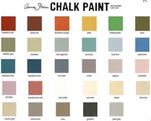 colors of chalk paint best 20 sloan colour chart ideas on