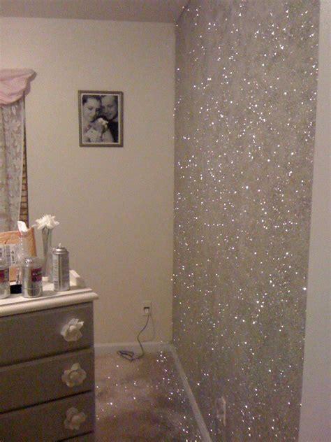 bedroom spray 23 glorious sparkle wall ideas glitter accent wall