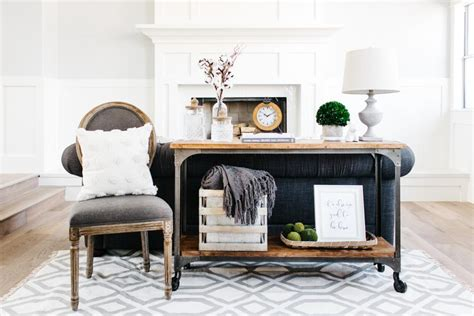 styling a sofa table 3 ways to style a sofa table hgtv