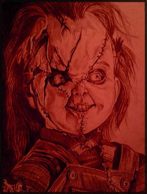 chucky bride of chucky by kevercaser deviantart com on
