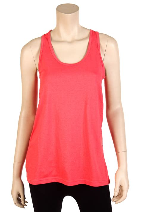 Top Joline Fit L womens fit tank top 100 cotton relaxed flowy basic sleeveless shirt s m l