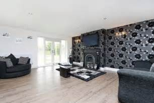 Black Feature Wall Ideas Click To See A Larger Image