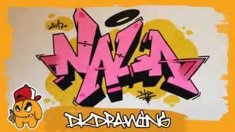 graffiti tutorial   draw graffiti names nala