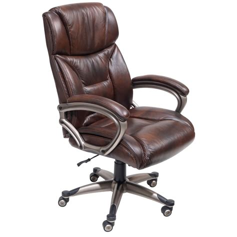 Office Chairs Brown Leather Architects Task Chair Brown Leather Desk Chair