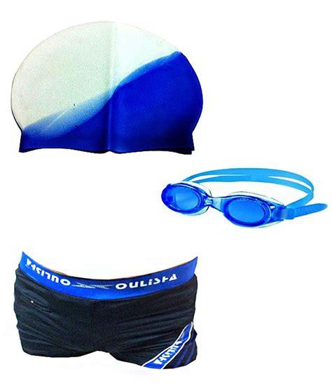 Cressi Kid Set Swim Cap Goggle imported swimming costume swim goggles and swim cap with