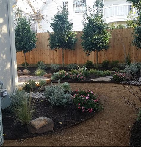 texas backyard landscaping ideas texas native backyard landscape houston by hdg