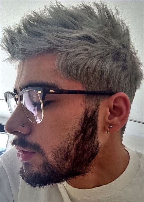 ash blue hair color and cut for men denimhair numinous 25 best ideas about grey hair men on pinterest bearded